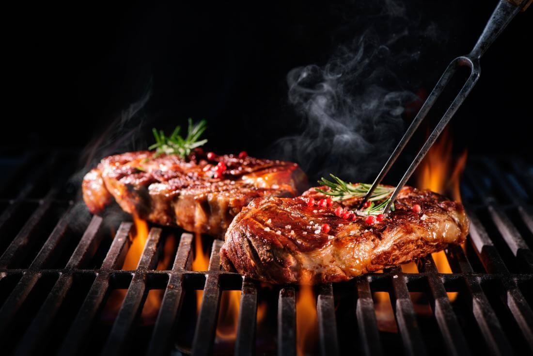 kvalitní maso, grilování, na gril, jožík, burger, urugvay, rib eye, hanger