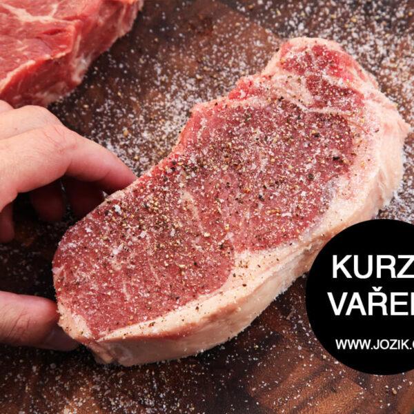 kkvalitní maso, grilování, na gril, jožík, burger, urugvay, rib eye, hanger