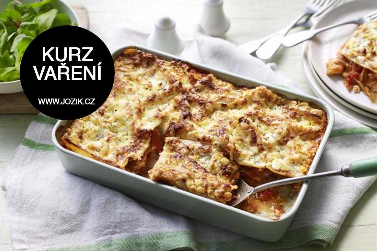 kurzy vaření, italská kuchyně, lasagne, foccacia, limoncello, jožík,