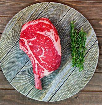 ryb eye steak ke grilovaní
